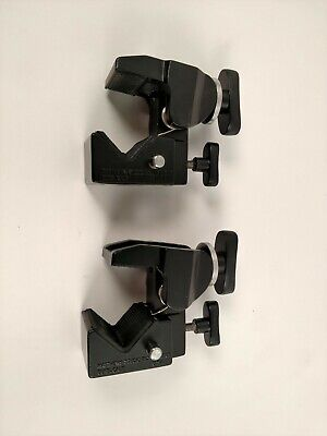 (2) MSE Manfrotto Type Super Clamps 035