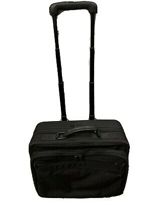 Briggs And Riley Travel Ware Rolling Luggage Bag Black