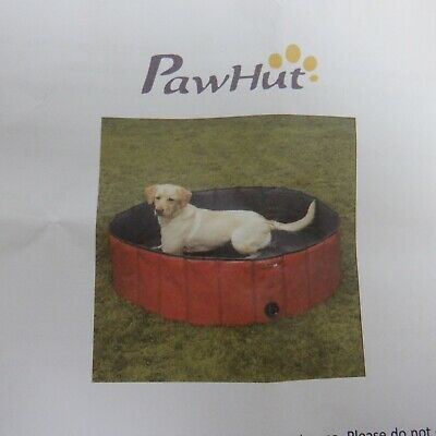 Fuloon Foldable Dog/Puppy/Cats Paddling/Swimming Pool Bathing Tub
