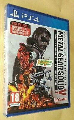 Metal Gear Solid V The Definitive Experience Playstation 4 PS4 NEW SEALED