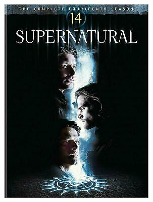 SUPERNATURAL complete season/series 14 Brand New DVD Free and Fast Dispatch