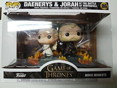 Funko Pop Game of Thrones #86 Daenreys & Jorah at the Battle of Winterfell New