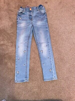 Girls Skinny Jeans From Next Age 5-6 Excellent Condition