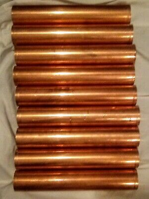"""9 Copper Pipe 2"""", 1' Length Type L"""