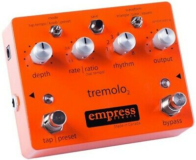 Empress Effects Tap Tremolo Pedal