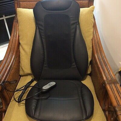 Brookstone Shiatsu Massaging Full Seat Topper(Barely Used) Excellent Condition
