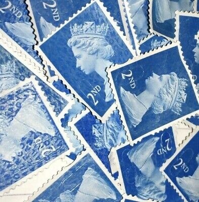 500 2nd Class Unfranked Stamps Security Type Off Paper No Gum Stamp Cheap