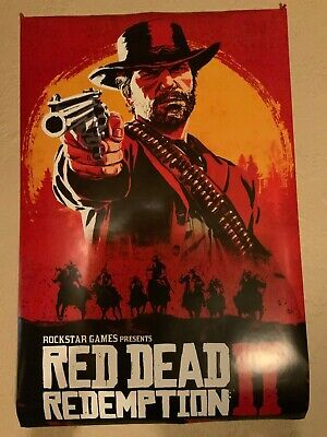"""Red Dead Redemption 2 Poster 36""""x24"""""""