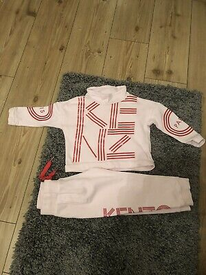 Girls Kenzo Tracksuit Size 4A/104