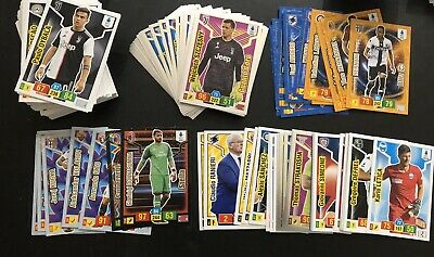 Adrenalyn Xl Calciatori 2019 20 - Lotto Di 176 Cards Diverse Adrenalyn Con Plus