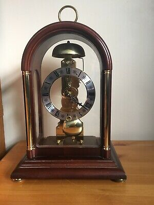 Hermle Skeleton Mantle Clock
