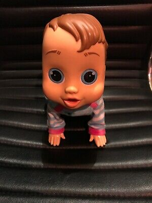 """Baby Wow """"Charlie"""" Crawl and Play Voice Activated Doll Dummy Ball Boxed Excellen"""