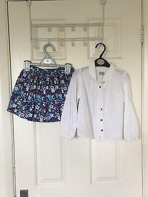 Skirt And Top Outfit 3-4 Years From M/S And Next Fab Conditions