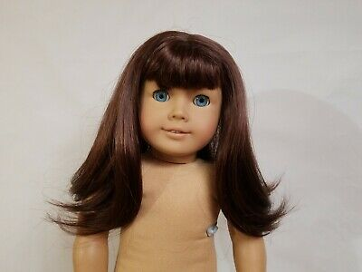American Girl TM14 WIG ONLY for 18in Doll Straight Brown Parts Repair TLC