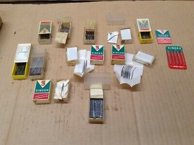 Large Mixed Lot Commercial Sewing Needles Singer   SN-05