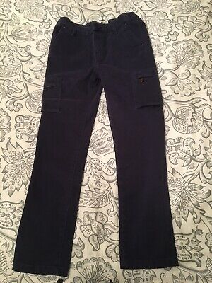 Fat Face Blue Cargo Trousers  Girl's Age 9yrs Worn Once