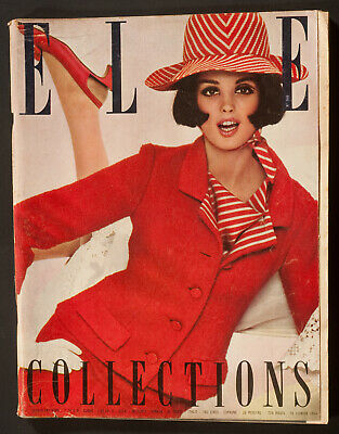 'Elle' French Vintage Magazine Spring Collection Issue 28 February 1964