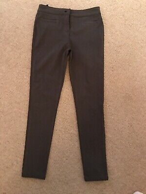 Girls Grey School Skinny Trousers From Next 12 Years