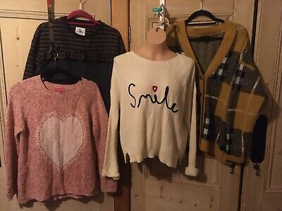 Womens Jumper Bundle New Look, TU etc Size 14