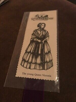 Cardboard Bookmark. The Young Queen Victoria.