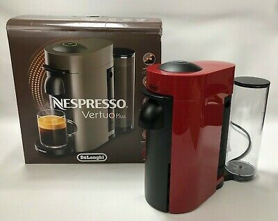 Nespresso by DeLonghi ENV150R Vertuo Plus Coffee Espresso Machine Maker Red