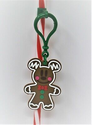 Disneyland Disney Parks 2019 Gingerbread Man Mickey Mouse Clip On Straw Topper