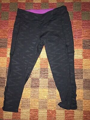 Ivivva Capri Cropped Leggings Size 14