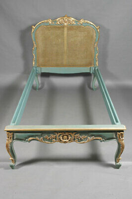 Royal Bed with Wickerwork in Louis Quinze Style