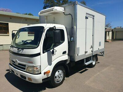 2010 Hino 300 616 Refrigerated Truck With Standby Plug