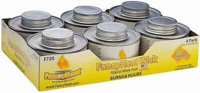 Fancy Heat 6 Hour Clean Burning Chafing Dish Fuel With Minimal Odor And Soot - 6