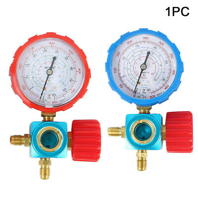 Air Conditioning  Manifold Gauge Manometer Auto With  Mirror for R22 R134