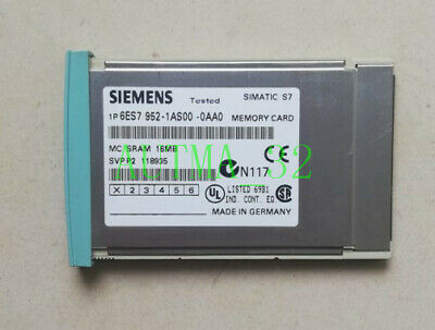 ONE Siemens 6ES7 952-1AS00-0AA0 6ES7952-1AS00-0AA0 USED