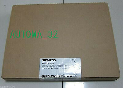 Siemens 6GK7 443-5DX03-0XE0  6GK7443-5DX03-0XE0 NEW Communication Module