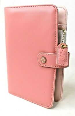 Websters Pages Personal Planner Journal Light Pink 8x5 inches No inserts AS NEW