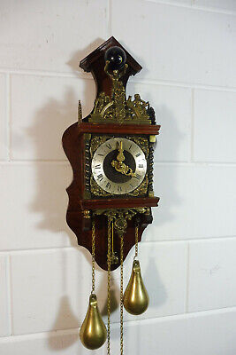 Dutch Zaanse Wall Clock Old Clock Dutch Holland Warmink Wuba