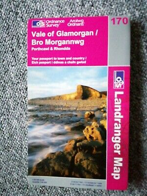 Vale of Glamorgan, Rhondda & Porthcawl by Ordnance Survey (Sheet map, folded, 2…