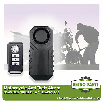 Wireless MotorCycle Alarm For Cobra Moto. Easy Install Anti-Theft Protect