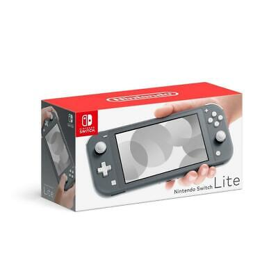 """Brand New Genuine Nintendo switch lite 5.5"""" touch screen Color Grey IT*3"""