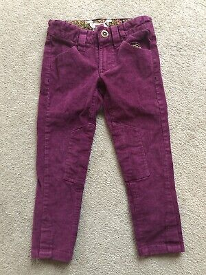 Joules Girls Cord Trousers Age 3 Years