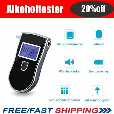 Portable MINI Digital LCD Alcohol Breathalyser Tester Breathtester Analyzer