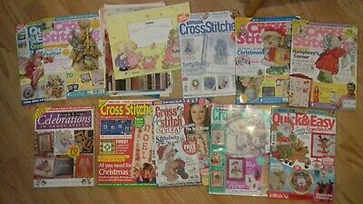 Job Lot Cross Stitch Magazines Christmas