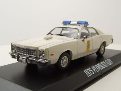 modello di auto 1:43//Greenlight DODGE Charger Pursuit POLICE HIGHWAY PATROL 2008