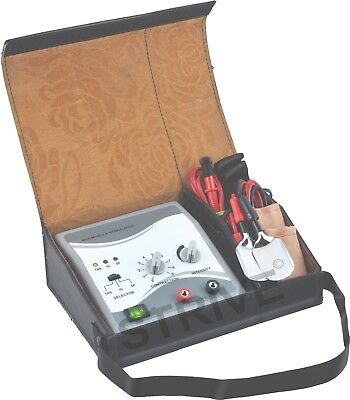 Portable 2 Channel Mini Electrotherapy TENS Massage EMS Machine Personal Kit Bag