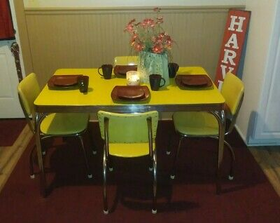 Vintage Retro Table & Chairs