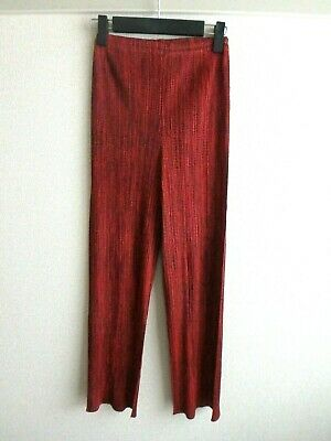 issey miyake pleats please pants size 1 made in japan F/S near mint