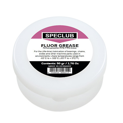 FLUOR GREASE - Perfluorypolyether PFPE / PTFE Grease w/ Corrosion Inhibitor