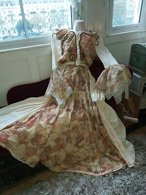 Vintage Theatre Ex Stage Ball Gown/Two Peice/costume-Period/mythical/sz M