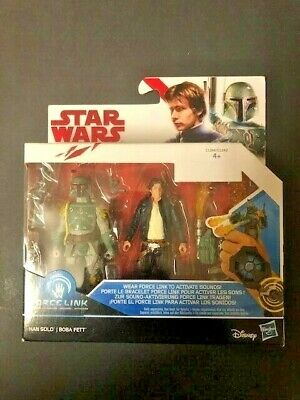 "STAR WARS Episode 8 The Last Jedi - Han Solo and Boba Fett 3.75"" 2 Pack"