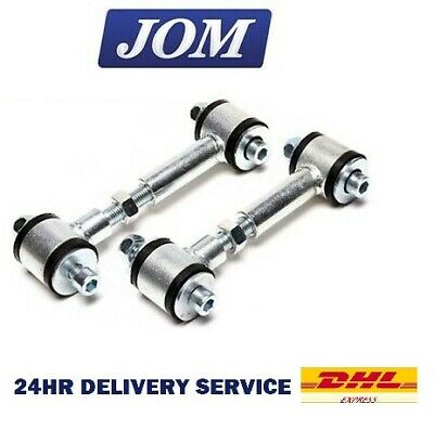 Front Adjustable Drop Links for Mitsubishi Lancer 2.0i EVO 2 3 CE9A AWD 1994-96
