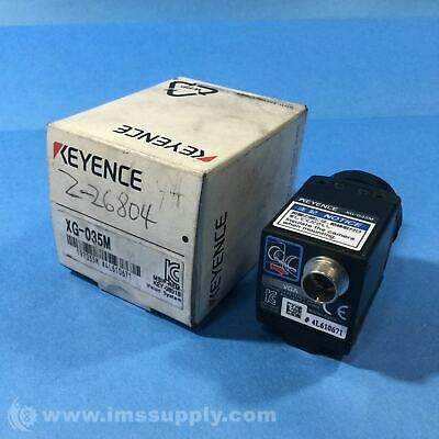 Keyence XG-035M Digital Double-speed Black-and-white Camera  FNOB